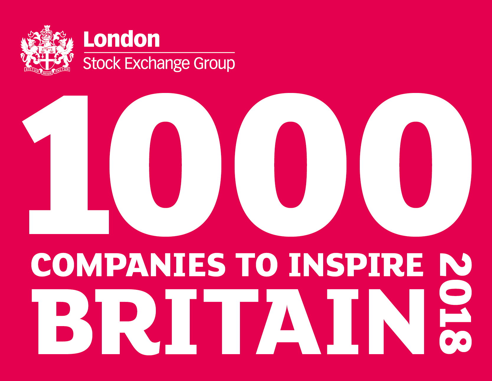 LSE 100 companies to inspire Britain
